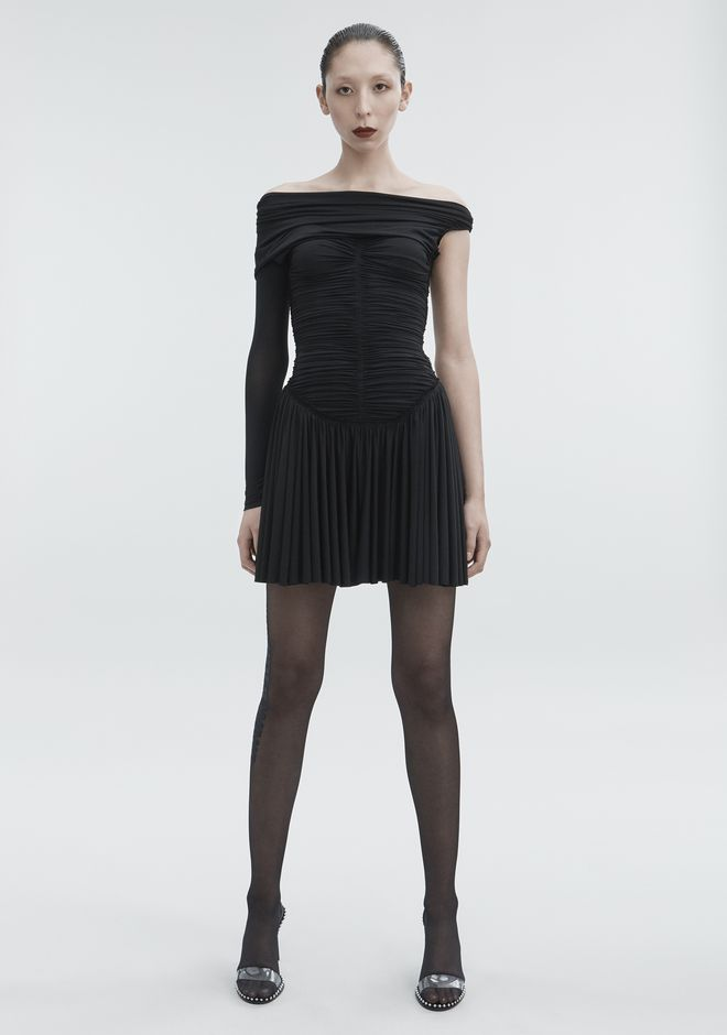 ALEXANDER WANG RUCHED MINI DRESS Short dress Adult 12_n_a