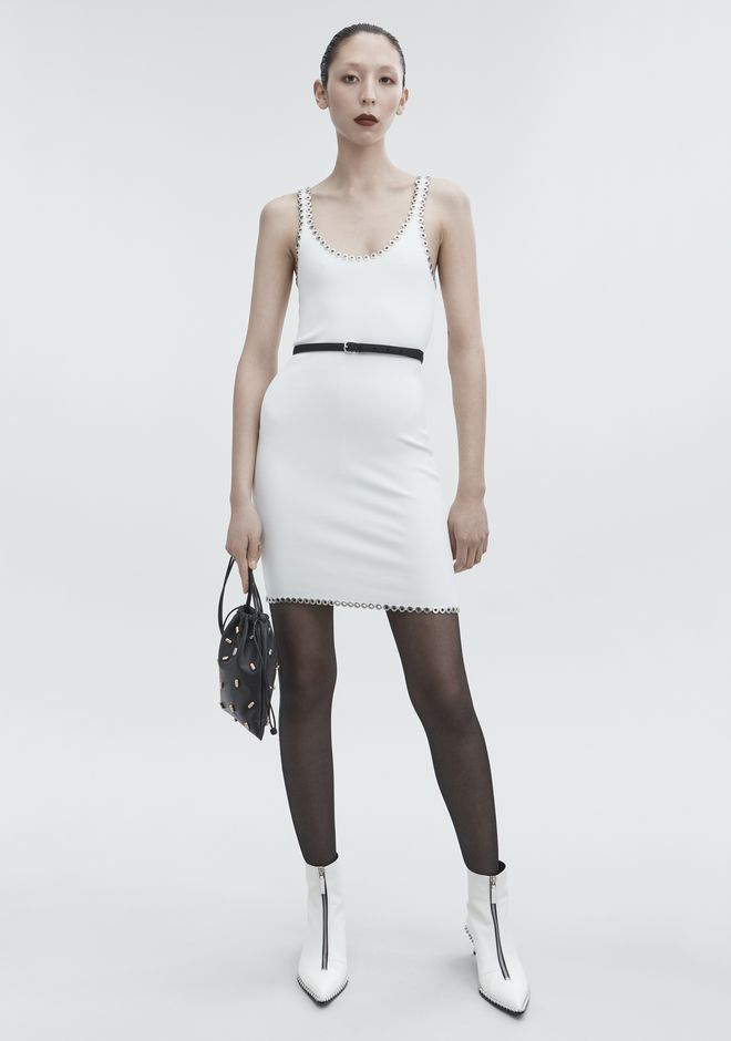 ALEXANDER WANG CAMI MINI DRESS Short dress Adult 12_n_f