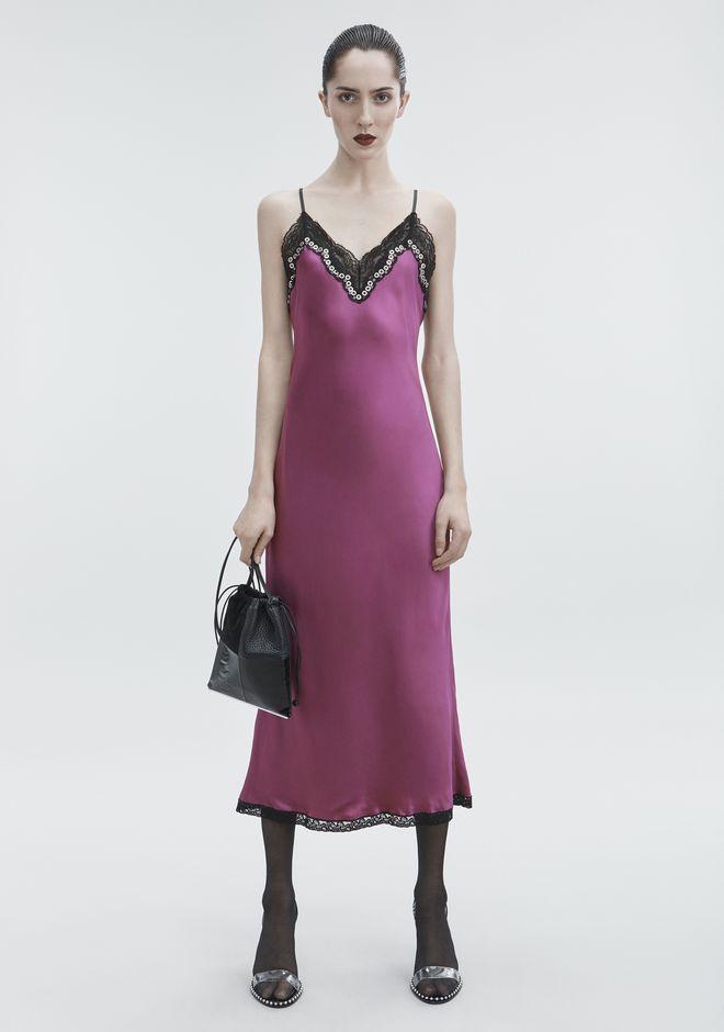 ALEXANDER WANG new-arrivals-ready-to-wear-woman SATIN SLIP DRESS
