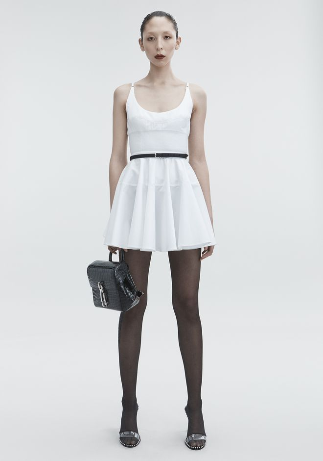 Poplin Mini Dress by Alexander Wang