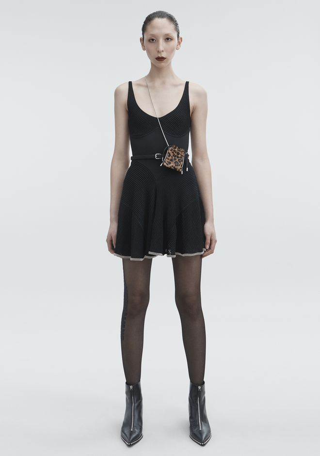 ALEXANDER WANG slrtwdr BALLCHAIN CAMI DRESS