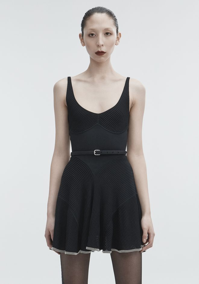 ALEXANDER WANG BALLCHAIN CAMI DRESS 숏 드레스 Adult 12_n_a