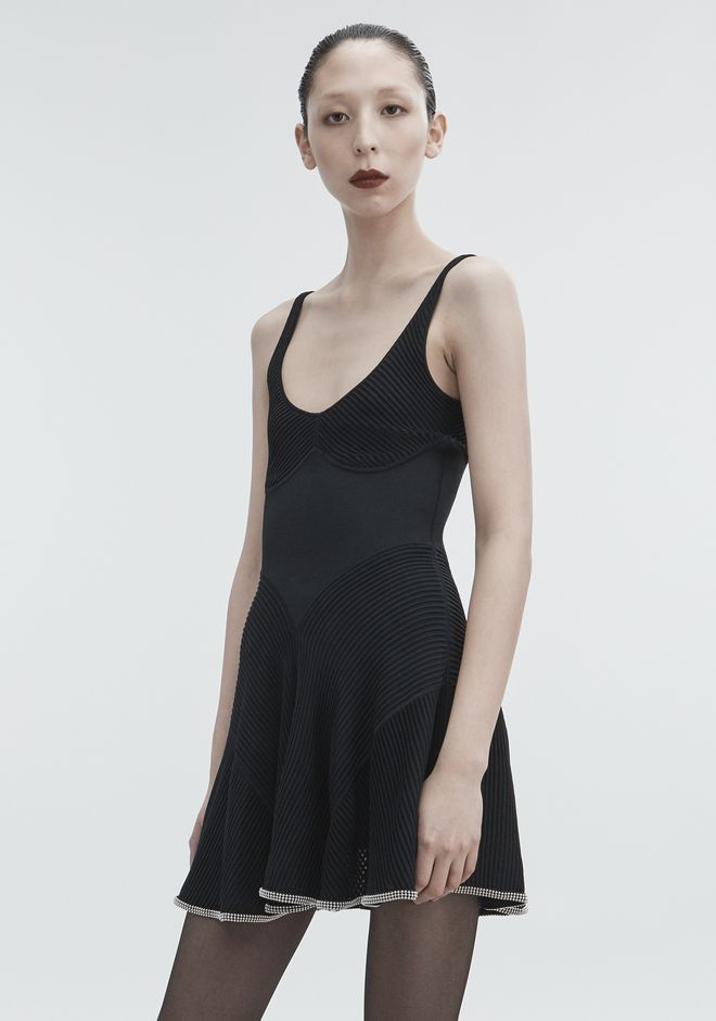 ALEXANDER WANG BALLCHAIN CAMI DRESS Short dress Adult 12_n_d