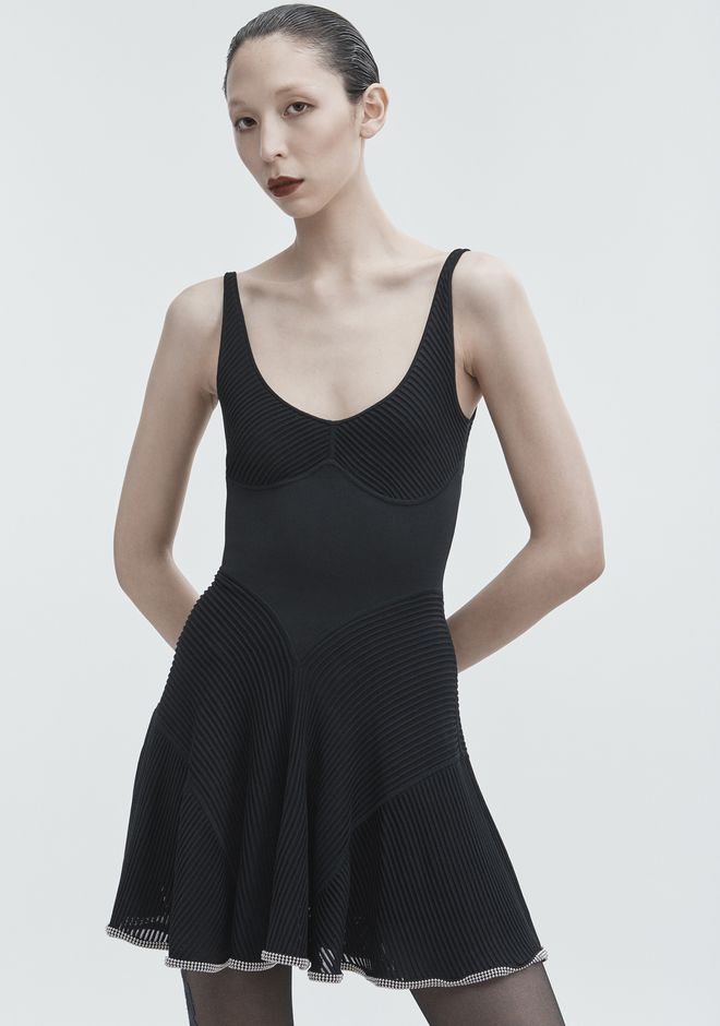 ALEXANDER WANG BALLCHAIN CAMI DRESS Short dress Adult 12_n_r