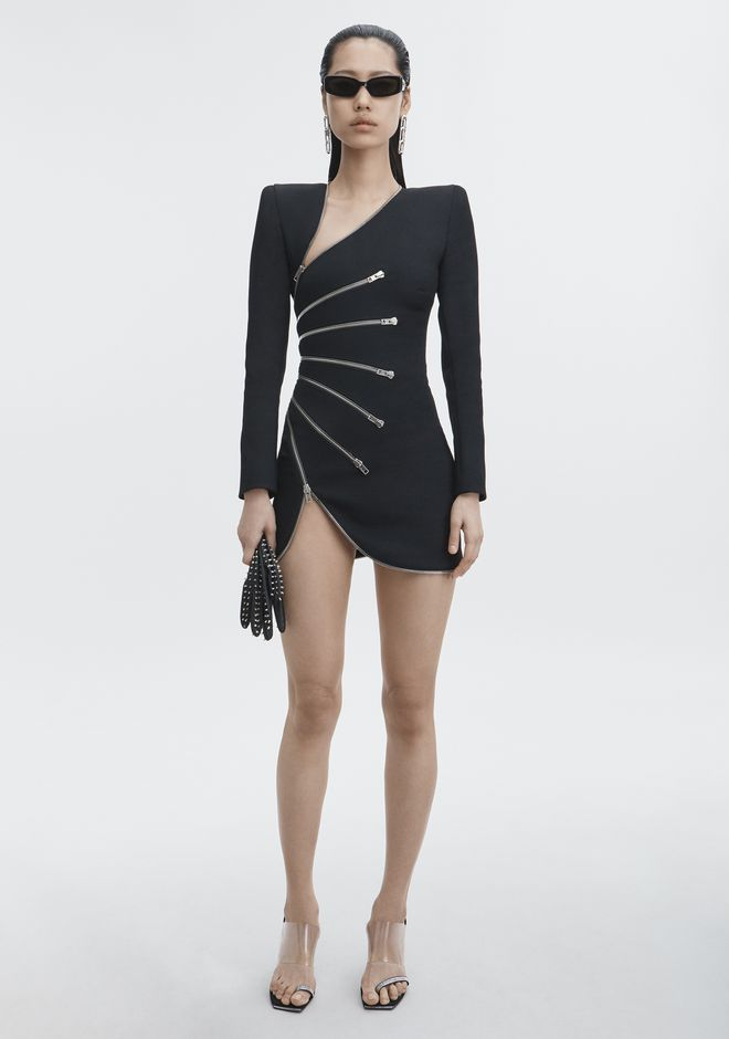 ALEXANDER WANG new-arrivals-ready-to-wear-woman ZIPPER DRESS