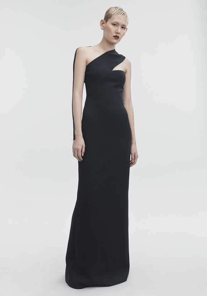 ALEXANDER WANG Long dresses Women CUTOUT COLUMN DRESS