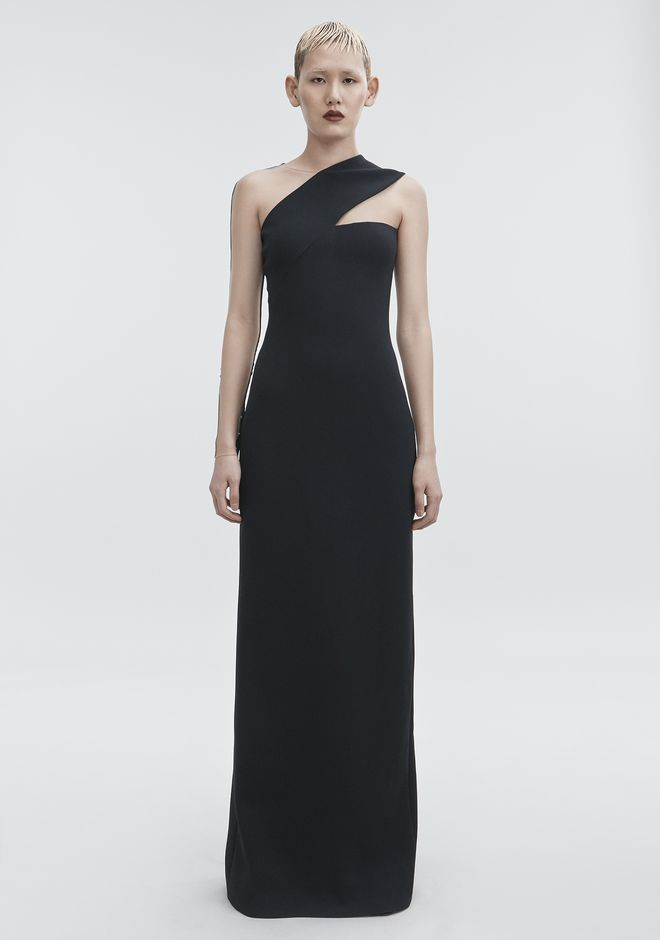 ALEXANDER WANG CUTOUT COLUMN DRESS Long dress Adult 12_n_a