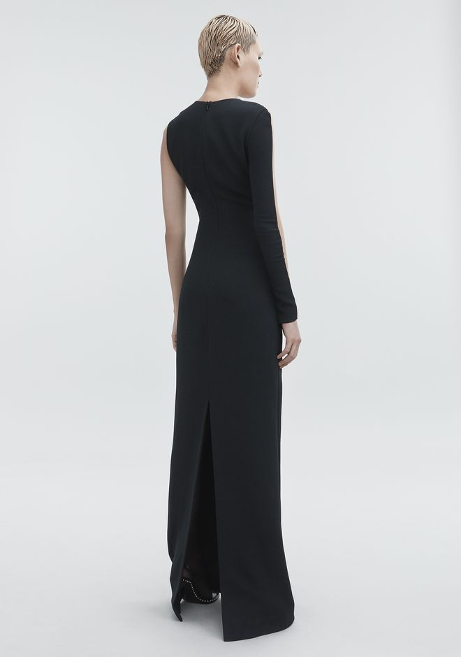 ALEXANDER WANG CUTOUT COLUMN DRESS Long dress Adult 12_n_r