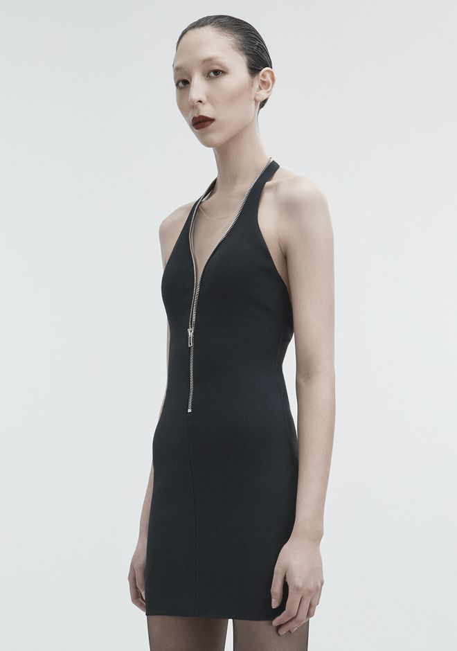 ALEXANDER WANG HALTER MINI DRESS 3/4 length dress Adult 12_n_d