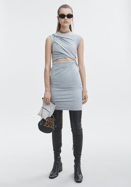 KEYHOLE TWIST DRESS