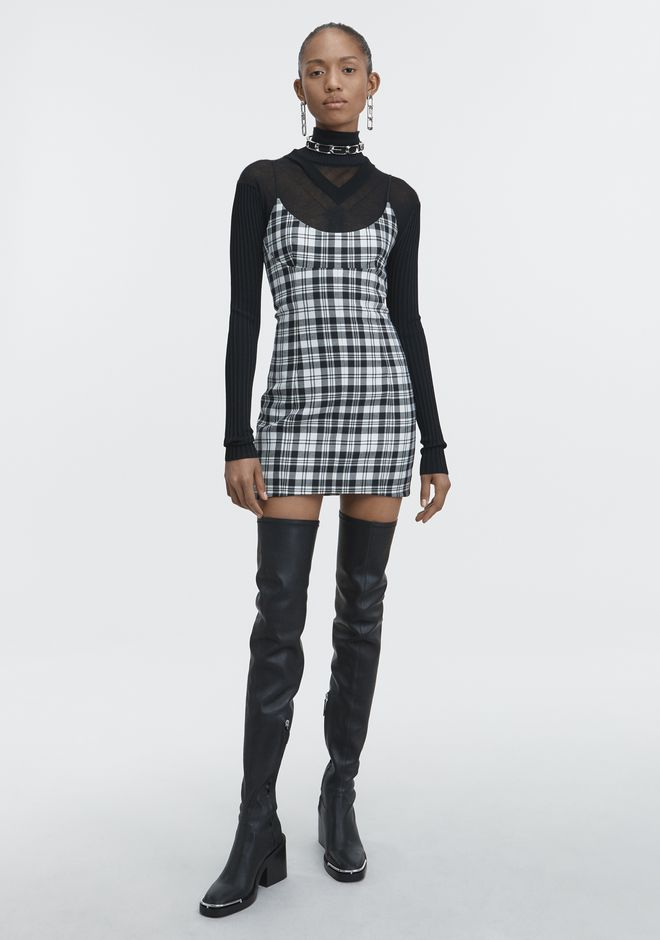 ALEXANDER WANG new-arrivals TAILORED MINI DRESS
