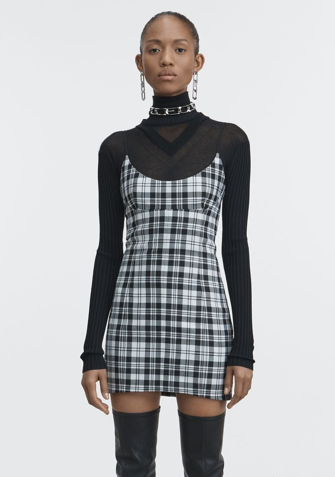 ALEXANDER WANG TAILORED MINI DRESS Short Dress Adult 12_n_a