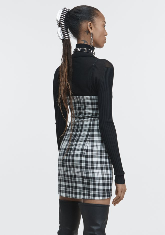 ALEXANDER WANG TAILORED MINI DRESS Short Dress Adult 12_n_e