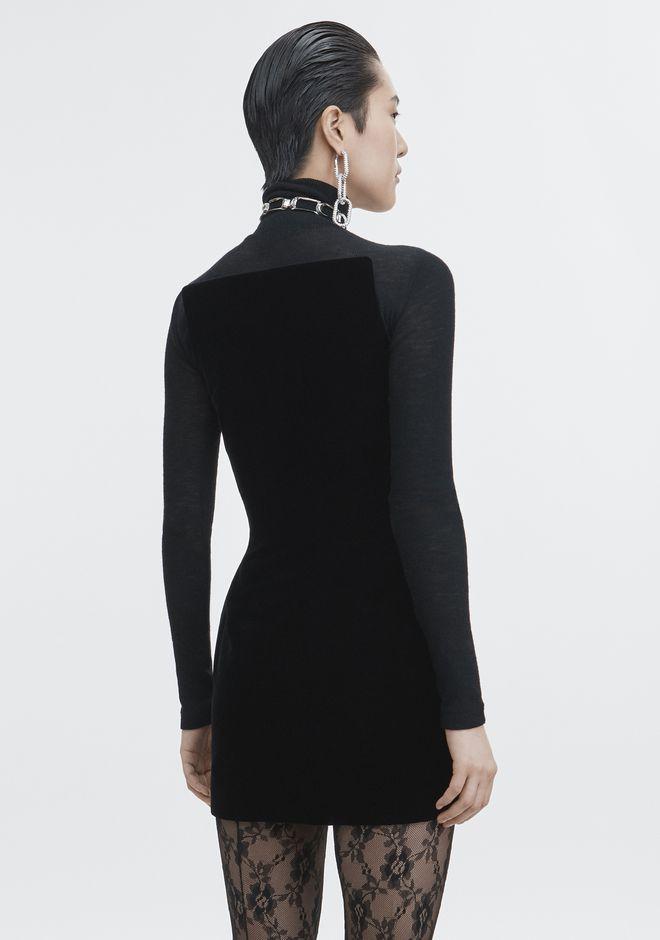 ALEXANDER WANG SCULPTED STRAPLESS DRESS Short Dress Adult 12_n_e
