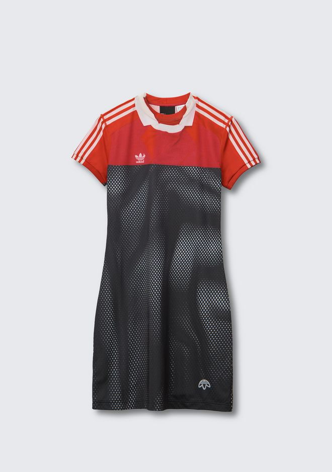 Adidas Originals By Aw Photocopy Dress in Multicolor