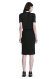 ALEXANDER WANG PENCIL SKIRT WITH SIDE SLIT LACING SKIRT Adult 8_n_r