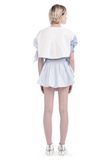 ALEXANDER WANG ASYMMETRIC SHIRTTAIL WRAP SKIRT WITH DRAW CORD SKIRT Adult 8_n_r