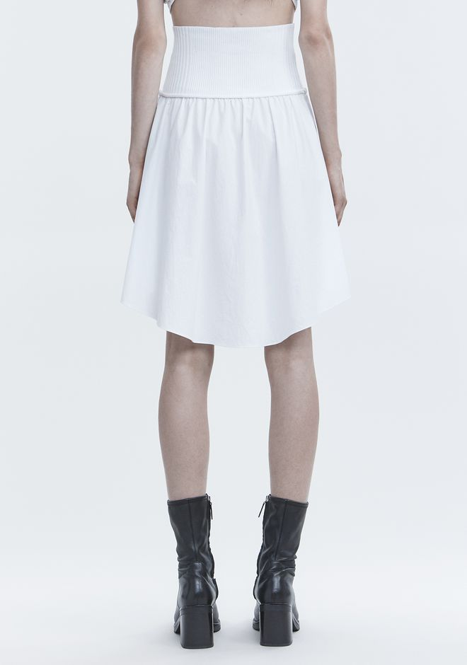 T by ALEXANDER WANG WASHED POPLIN SKIRT スカート Adult 12_n_a