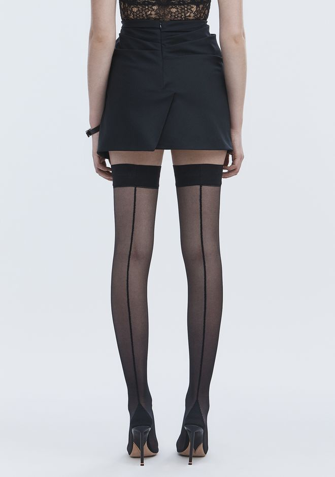 ALEXANDER WANG TUXEDO SKIRT ROCK Adult 12_n_d