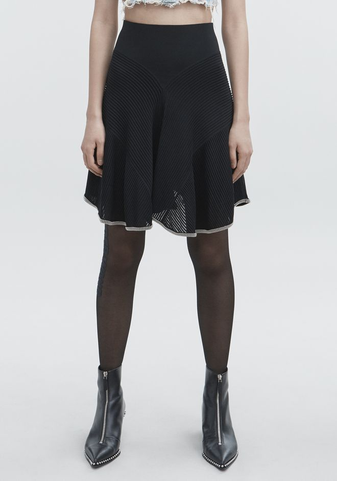 ALEXANDER WANG BALLCHAIN SKIRT GONNA Adult 12_n_a