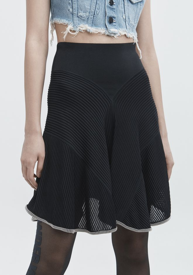 ALEXANDER WANG BALLCHAIN SKIRT GONNA Adult 12_n_d