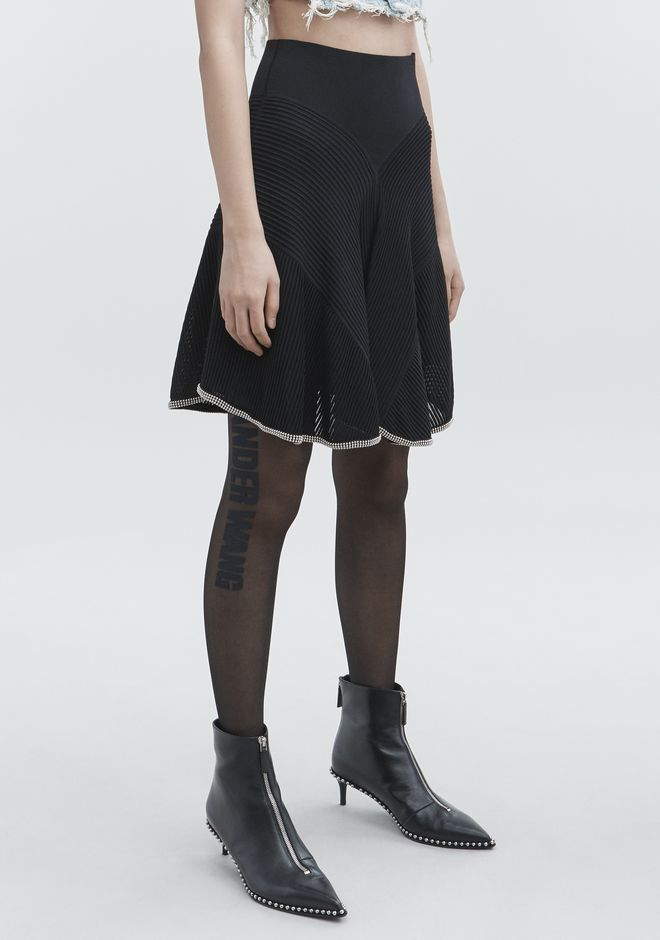 ALEXANDER WANG BALLCHAIN SKIRT GONNA Adult 12_n_e