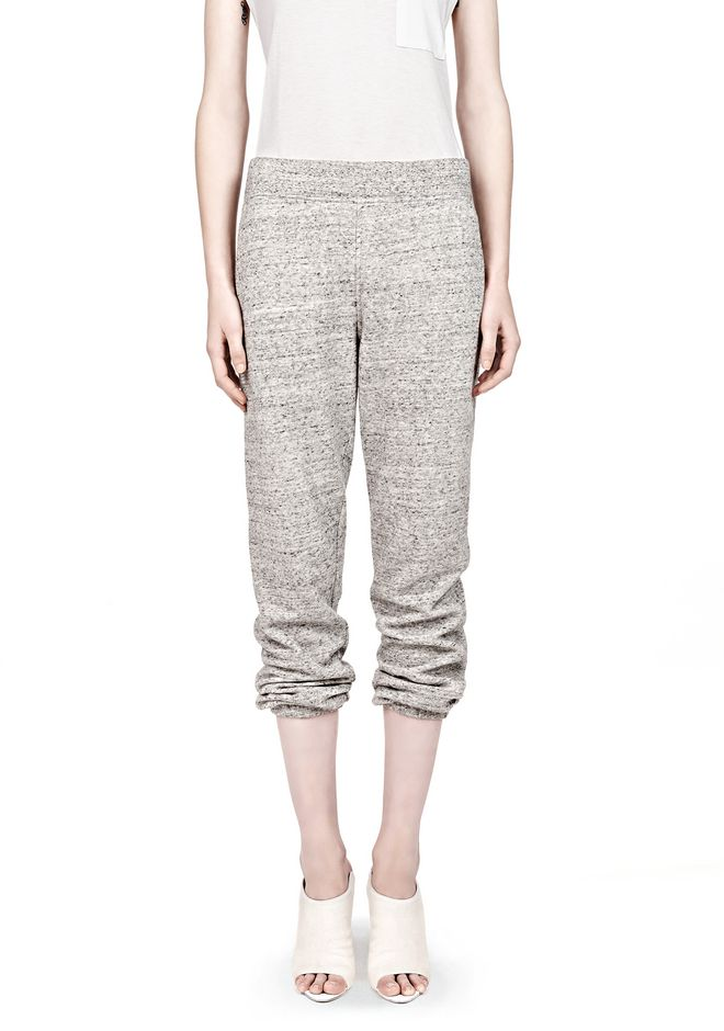 T by ALEXANDER WANG  FRENCH TERRY SWEATPANTS PANTS Adult 12_n_d