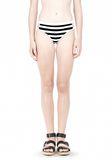 T by ALEXANDER WANG STRIPE MESH COMBO SWIM BOTTOM Swimwear Adult 8_n_d