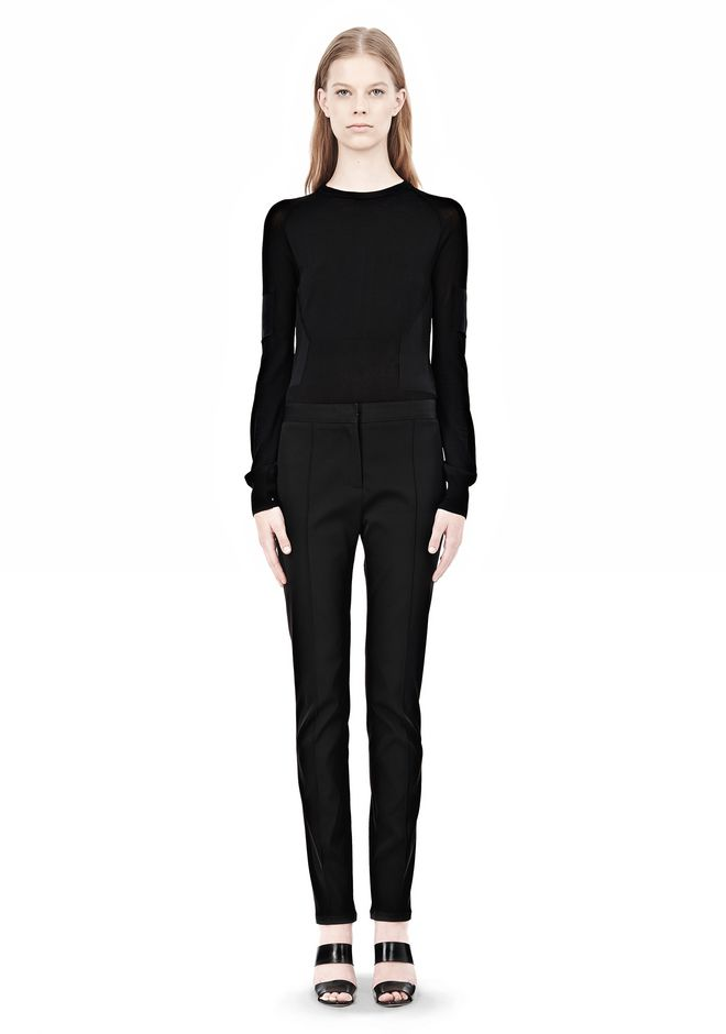 ALEXANDER WANG PINTUCKED SKINNY PANT PANTS Adult 12_n_f