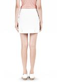 T by ALEXANDER WANG DOUBLE FACE STRETCH COTTON MINI SKIRT Skirt/DEL Adult 8_n_d