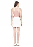 T by ALEXANDER WANG DOUBLE FACE STRETCH COTTON MINI SKIRT Skirt/DEL Adult 8_n_r