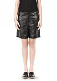 T by ALEXANDER WANG LIGHTWEIGHT LEATHER BOARDSHORTS SHORTS Adult 8_n_d