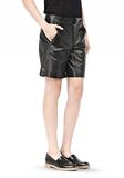 T by ALEXANDER WANG LIGHTWEIGHT LEATHER BOARDSHORTS SHORTS Adult 8_n_e