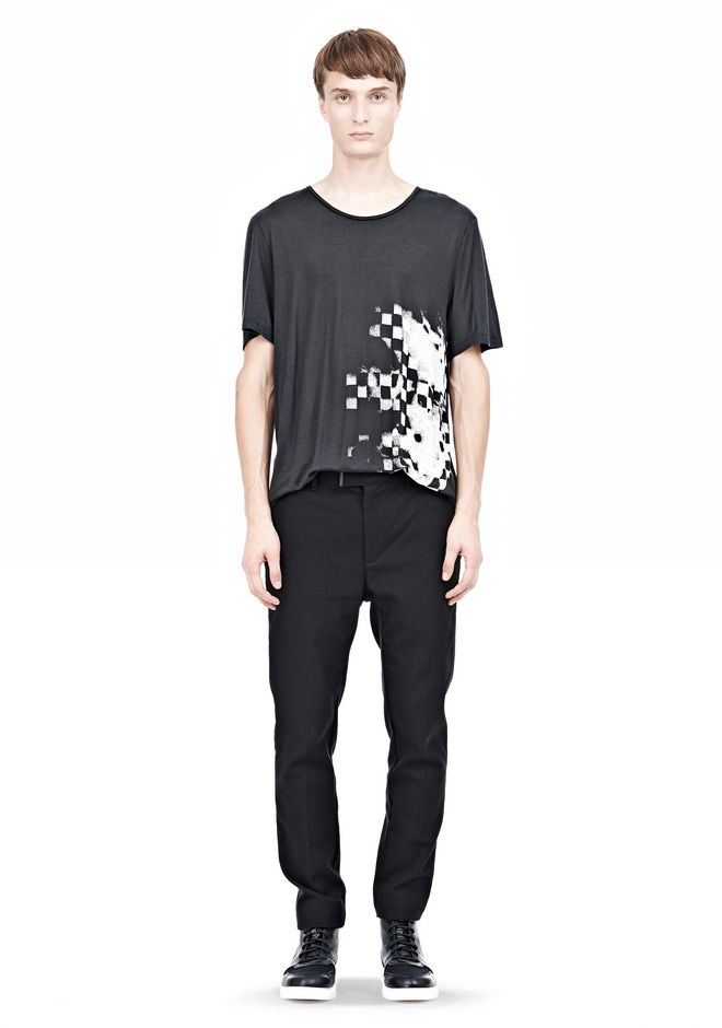 ALEXANDER WANG DRESS TROUSER WITH COIN POCKET DETAIL PANTS Adult 12_n_f