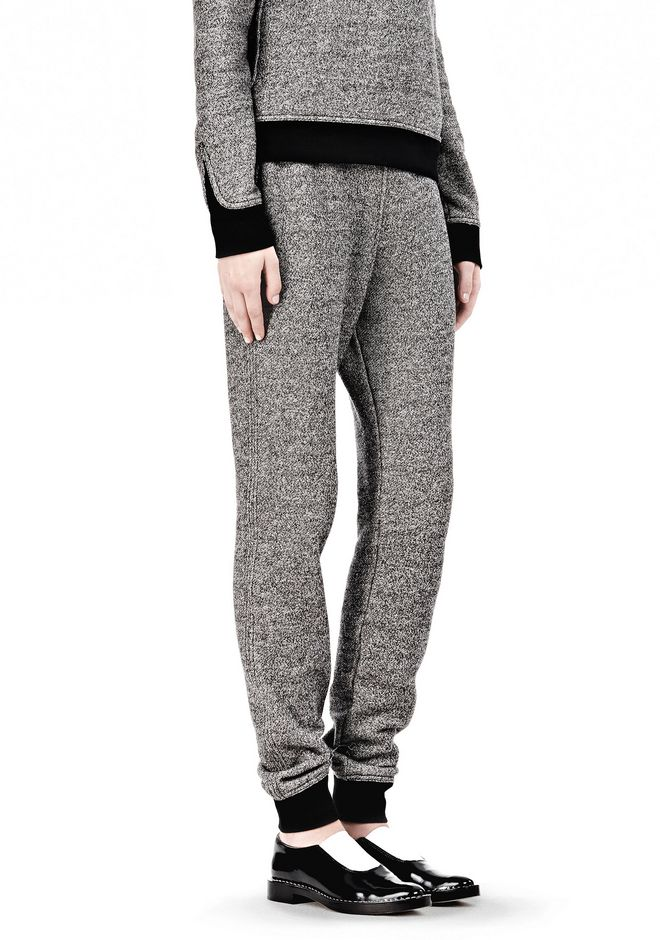 T by ALEXANDER WANG  FRENCH TERRY SWEATPANTS PANTS Adult 12_n_e
