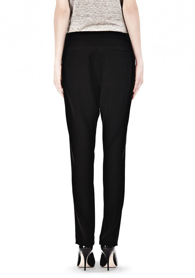 T by ALEXANDER WANG DRAPED SUITING  FRONT TROUSERS SKIRT Adult 12_n_a