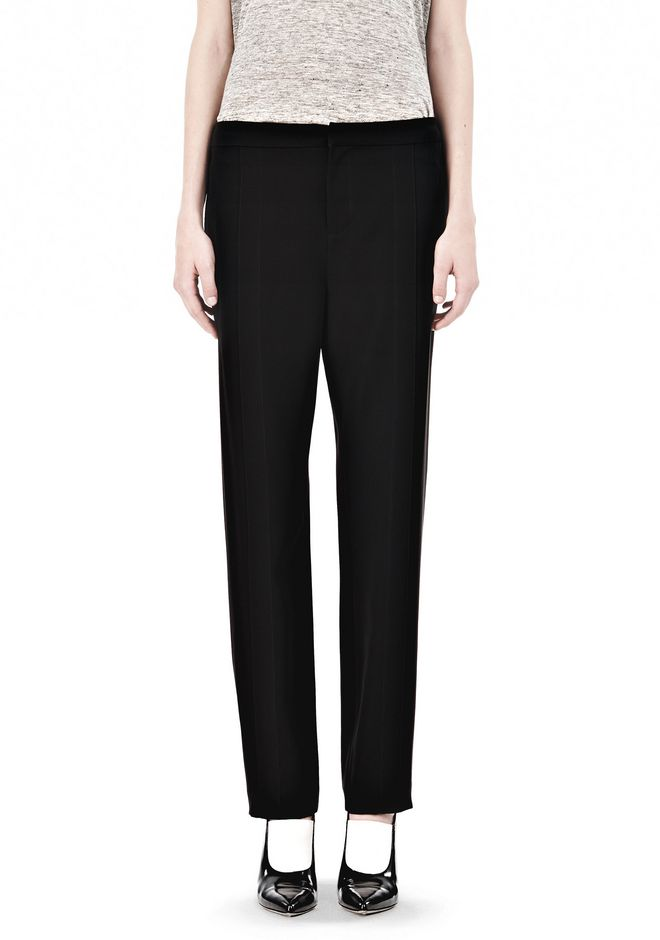 T by ALEXANDER WANG DRAPED SUITING  FRONT TROUSERS SKIRT Adult 12_n_d