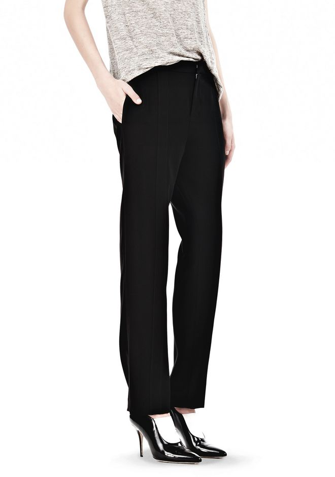 T by ALEXANDER WANG DRAPED SUITING  FRONT TROUSERS SKIRT Adult 12_n_e