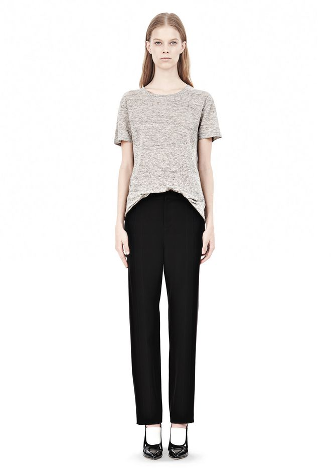 T by ALEXANDER WANG DRAPED SUITING  FRONT TROUSERS SKIRT Adult 12_n_f