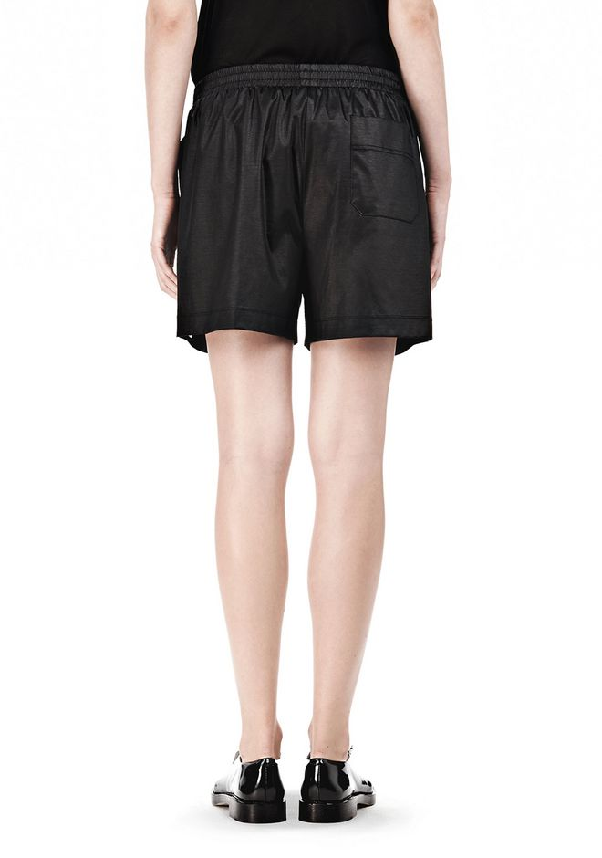 T by ALEXANDER WANG CHINTZ COTTON JERSEY BOXER SHORTS SHORTS Adult 12_n_a