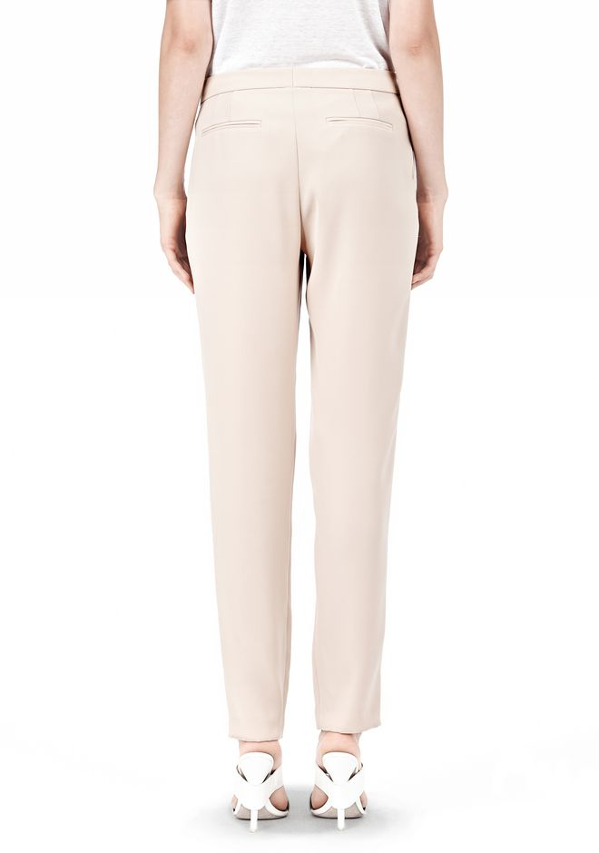 T by ALEXANDER WANG DRAPE SUITING TAPPERED TROUSERS PANTS Adult 12_n_d