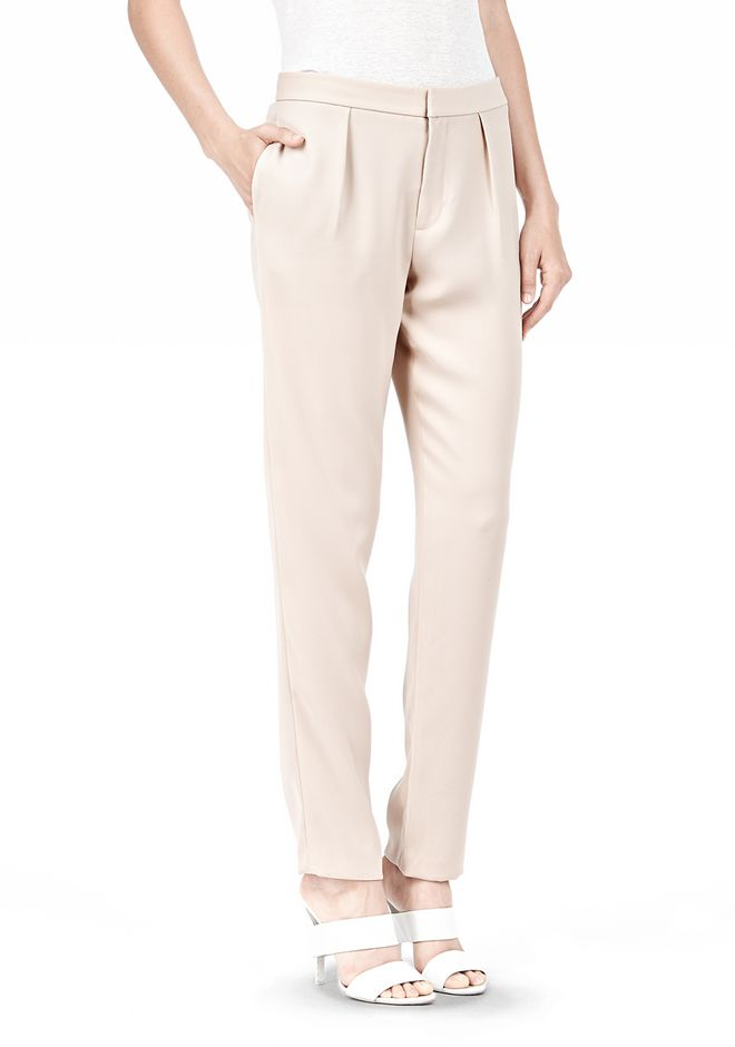 T by ALEXANDER WANG DRAPE SUITING TAPPERED TROUSERS PANTS Adult 12_n_e