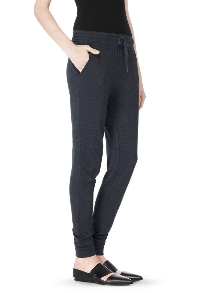 T by ALEXANDER WANG LIGHTWEIGHT FRENCH TERRY SWEATPANTS PANTS Adult 12_n_e