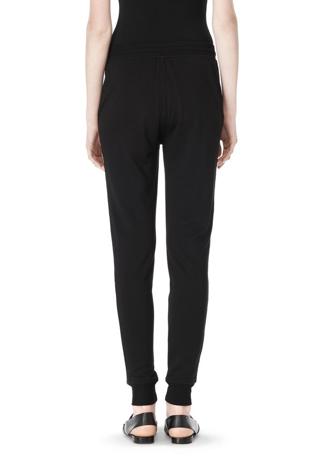T by ALEXANDER WANG LIGHTWEIGHT FRENCH TERRY SWEATPANTS PANTS Adult 12_n_a
