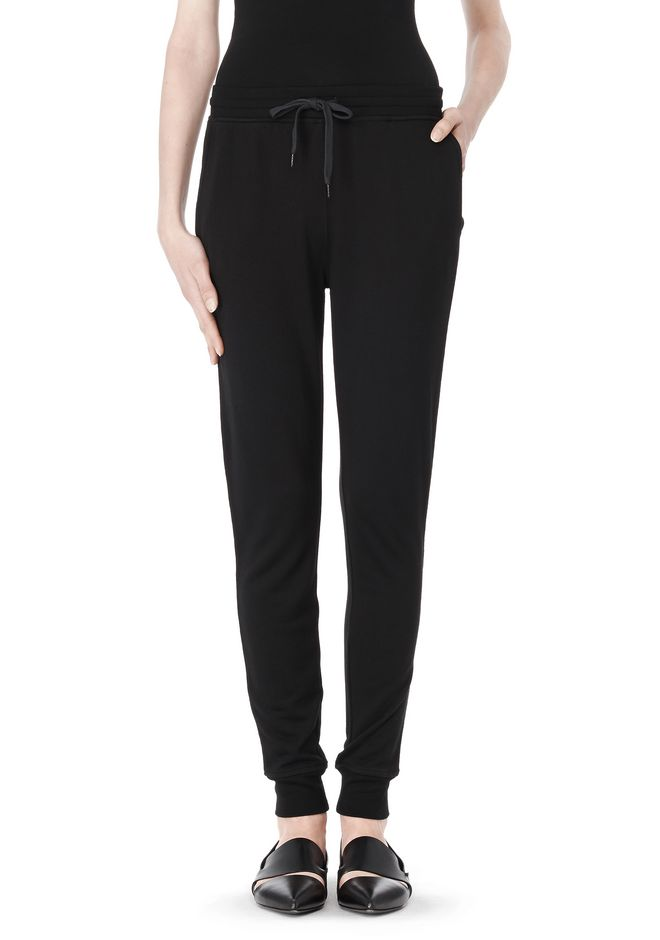 T by ALEXANDER WANG LIGHTWEIGHT FRENCH TERRY SWEATPANTS PANTS Adult 12_n_d