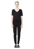 T by ALEXANDER WANG LIGHTWEIGHT FRENCH TERRY SWEATPANTS PANTS Adult 8_n_f
