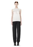 ALEXANDER WANG LOW WAISTED PINSTRIPE PANT PANTS Adult 8_n_f
