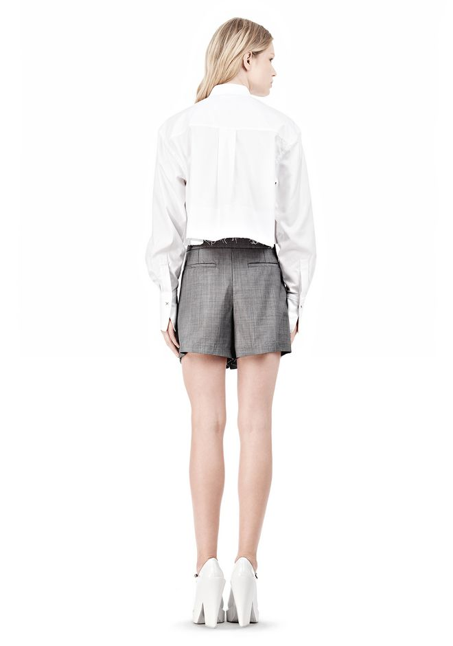 ALEXANDER WANG LOW WAISTED MEN'S SHORT  SHORTS Adult 12_n_r