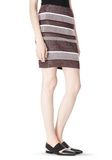 T by ALEXANDER WANG RIB KNIT PENCIL SKIRT SKIRT Adult 8_n_e