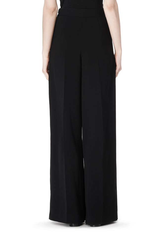 ALEXANDER WANG HIGH WAISTED PLEAT FRONT PANT PANTS Adult 12_n_a